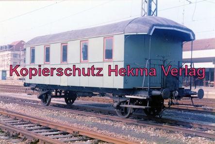 Museumszug Nürtingen-Neuffen - ehemaliger Mubawagen
