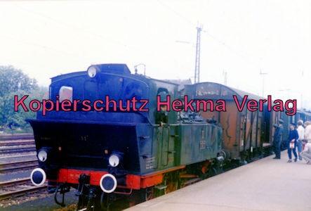 Museumszug Nürtingen-Neuffen - Bahnhof Neuffen - Lok