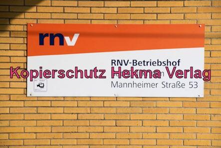Bad Dürkheim Straßenbahn - Bad Dürkheim - Straßenbahndepot der Rhein-Haardtbahn - Schild