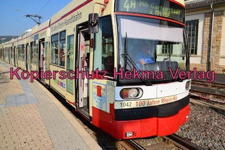 Bad Dürkheim Straßenbahn - Bad Dürkheim - Haltestelle Bad Dürkheim-Ost (Depot) - Wagen 1042