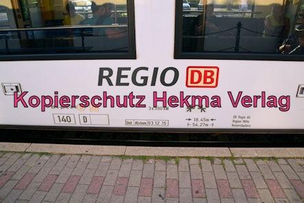 Deidesheim Eisenbahn - Deidesheim Bahnhof - Zug RB45 - 622 541