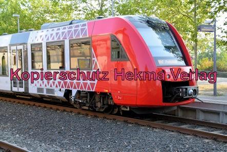 Deidesheim Eisenbahn - Deidesheim Bahnhof - Zug RB45 - 623 507
