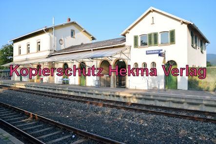 Deidesheim Eisenbahn - Deidesheim Bahnhof - Bahnhofsgebäude
