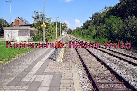 Eisenberg Eisenbahn - Eisenberg Bahnhof - Bahnsteig