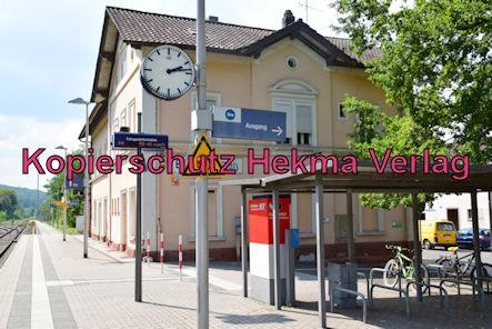 Eisenberg Eisenbahn - Eisenberg Bahnhof - Bahnhofsgebäude