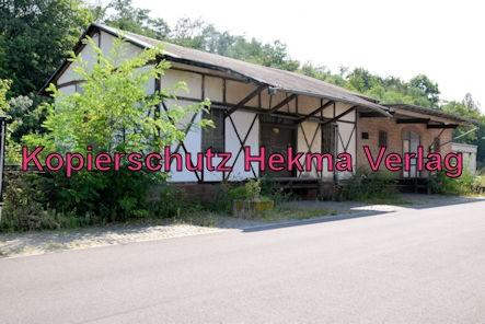 Eisenberg Eisenbahn - Eisenberg Bahnhof - Ehemaliger Güterschuppen