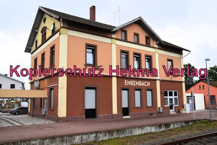 Enkenbach-Alsenborn Eisenbahn - Bahnhof Enkenbach-Alsenborn - Bahnhofsgebäude