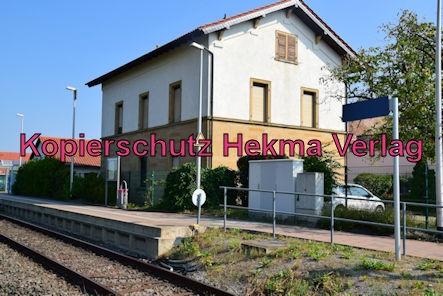 Erpolzheim Eisenbahn - Erpolzheim Bahnhof - Bahnhofsgebäude