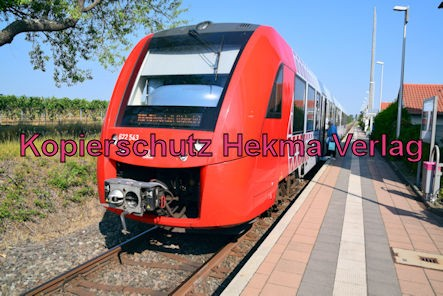 Erpolzheim Eisenbahn - Erpolzheim Bahnhof - Zug RB45 - 622 543