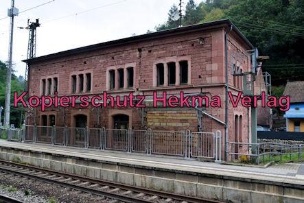 Frankenstein Pfalz Eisenbahn - Bahnhof Frankenstein - Bahnhofsgebäude