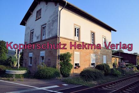 Königsbach Pfalz Eisenbahn - Altes Bahnhofsgebäude von Königsbach Pfalz