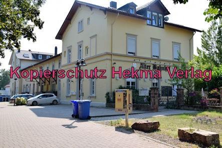 Kirchheim (Weinstr.) Eisenbahn - Bahnhof Kirchheim (Weinstr.) - Bahnhofsgebäude
