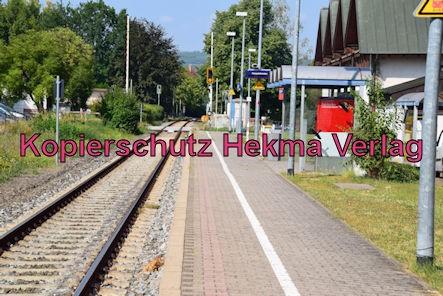 Kirchheim (Weinstr.) Eisenbahn - Bahnhof Kirchheim (Weinstr.) - Bahnsteig