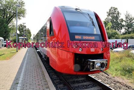 Kirchheim (Weinstr.) Eisenbahn - Bahnhof Kirchheim (Weinstr.) - Zug RB45 - 623 009