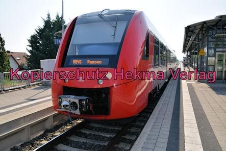 Freinsheim Eisenbahn - Freinsheim Bahnhof - Zug RB46 - 623 013