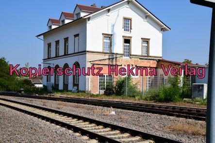 Freinsheim Eisenbahn - Freinsheim Bahnhof - Bahnhofsgebäude
