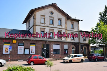 Grünstadt Eisenbahn - Grünstadt Bahnhof - Bahnhofsgebäude