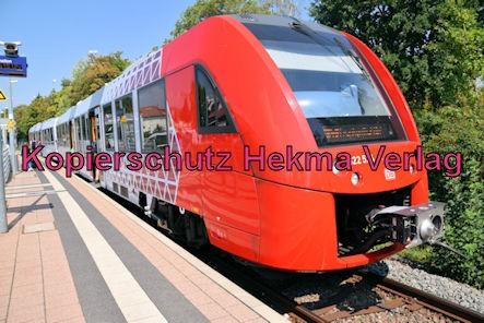 Grünstadt Eisenbahn - Bahnhaltepunkt Grünstadt-Nord - Zug RB45 - 622 524