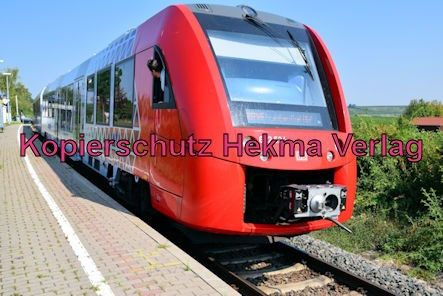 Herxheim am Berg Eisenbahn - Bahnhaltepunkt Herxheim am Berg - Zug RB45 - 622 524