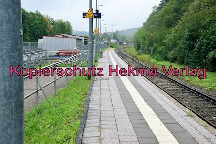Ramsen Pfalz Eisenbahn - Bahnhof Ramsen - Bahnsteig