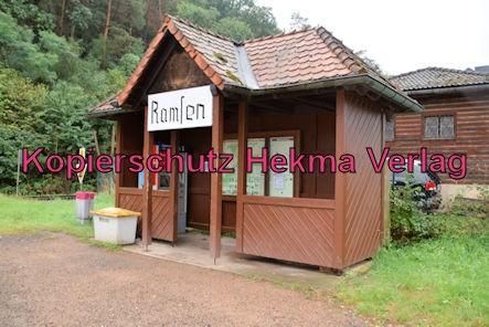 Ramsen Pfalz Eisenbahn - Bahnhof Ramsen - Bahnhäuschen (Wartehalle)