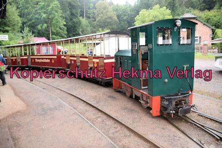 Stumpfwaldbahn Eiswoog Pfalz Eisenbahn - Bahnhof Eiswoog - Feldbahnlok der Eisenberger Klebsand-Werke GmbH