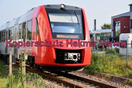Wachenheim Pfalz Eisenbahn - Bahnhof Wachenheim - Zug RB45 - 622 043