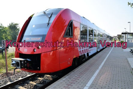 Wachenheim Pfalz Eisenbahn - Bahnhof Wachenheim - Zug RB45 - 622 041