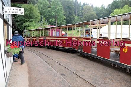Stumpfwaldbahn Eiswoog Pfalz Eisenbahn - Bahnhof Eiswoog - Personenwagen