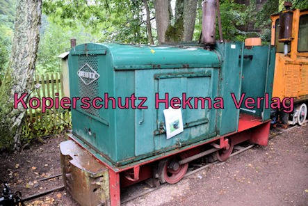 Stumpfwaldbahn Eiswoog Pfalz Eisenbahn - Bahnhof Eiswoog - Feldbahnlok - Deutz