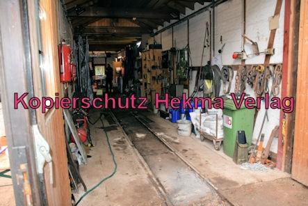 Stumpfwaldbahn Eiswoog Pfalz Eisenbahn - Bahnhof Eiswoog - Lokschuppen und Werkstatt