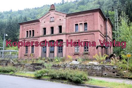 Weidenthal Pfalz Eisenbahn - Bahnhof Weidenthal - Bahnhofsgebäude