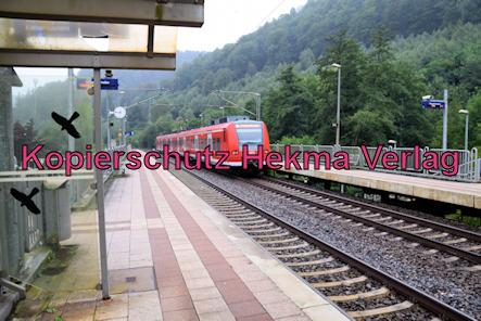 Weidenthal Pfalz Eisenbahn - Bahnhof Weidenthal - Bahnsteig