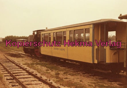 Langeoog Inselbahn - Zug