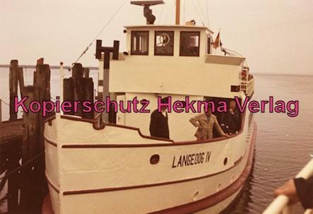 Langeoog Inselbahn - Schiff - Langeogg IV