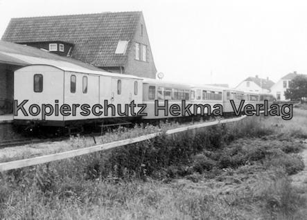 Langeoog Inselbahn - Güter- und Personenwagen