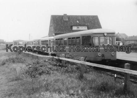 Langeoog Inselbahn - Personenwagen