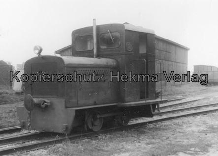 Langeoog Inselbahn - Diesellok