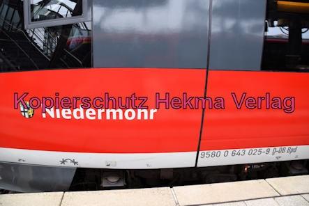 Neustadt Wstr. Eisenbahn - Neustadt Hbf - Wagen 643 025 - Niedermohr