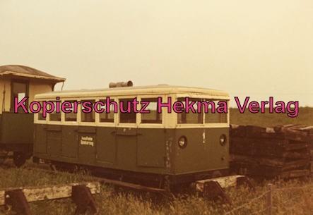 Spieckeroog Inselbahn - Wagen
