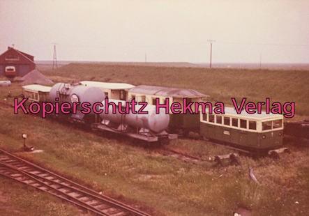 Spieckeroog Inselbahn - Kesselwagen