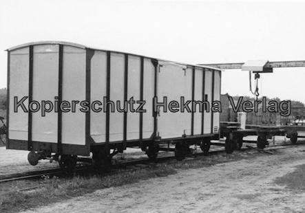 Spieckeroog Inselbahn - Güterwagen