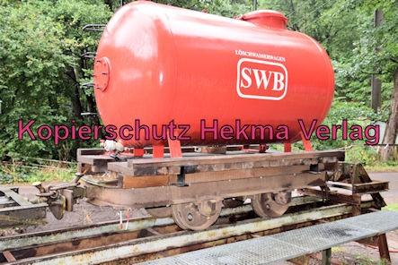 Stumpfwaldbahn Eiswoog Pfalz Eisenbahn - Bahnhof Eiswoog - Löschwasserwagen