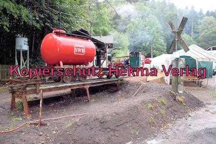 Stumpfwaldbahn Eiswoog Pfalz Eisenbahn - Bahnhof Eiswoog - Wasserwagen