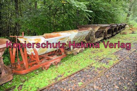 Stumpfwaldbahn Eiswoog Pfalz Eisenbahn - Bahnhof Eiswoog - Auf der Strecke - Loren
