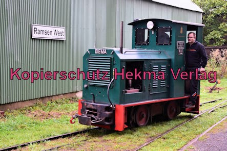 Stumpfwaldbahn Eiswoog Pfalz Eisenbahn - Bahnhof Eiswoog - Feldbahn Diema