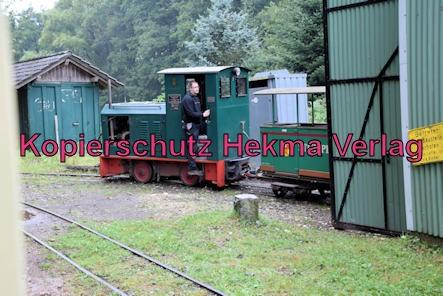 Stumpfwaldbahn Eiswoog Pfalz Eisenbahn - Ramsen West - Wagenhalle