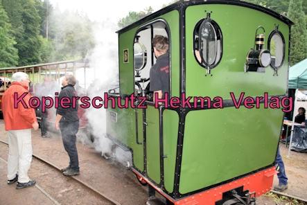 Stumpfwaldbahn Eiswoog Pfalz Eisenbahn - Bahnhof Eiswoog - Lok unter Dampf