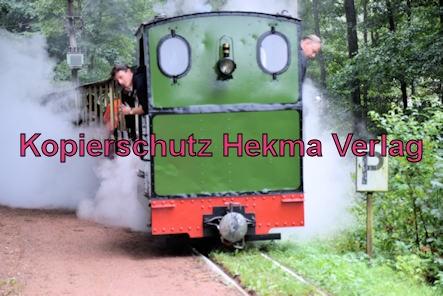 Stumpfwaldbahn Eiswoog Pfalz Eisenbahn - Bahnhof Eiswoog - Auf der Strecke