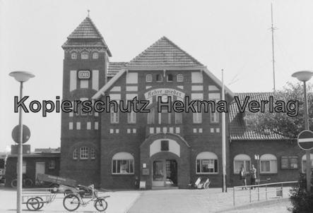 Wangerooge Inselbahn - Bahnhofsgebäude von Wangerooge